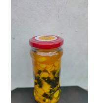 Pickle - Mango Ginger & Green Pepper (300 Gms, Glass Bottle)