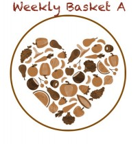 Weekly Basket - 1Kg Tomato, Potato, Onion; 0.5Kg - Carrot, Ladies Finger, Beans, Beetroot; 1 Pc -  Cabbage,  250g Cucumber, 100g Green Chilli, 500g Yellaki Banana, Curry Bunch