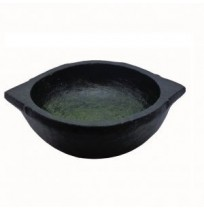 Soapstone Cookware - Kadai (Vanali) ~ Seasoned