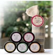 Wild Ideas Pit Paste Deodorant Cream Mini (set of 5)