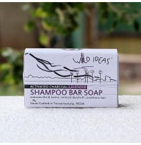 Shampoo Bar Soap: Activated Charcoal & Lavender - 100gms
